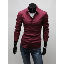 Camisa Slim Fit - Luxo- Pronta Entrega