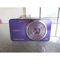 Camera Digital Sony Cyber Shot 16.1 Megapixel Lilás
