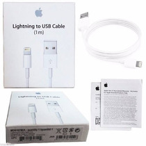 Cabo Apple Usb Celular 100% Original Iphone 5s 5 Iphone 6