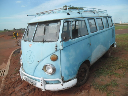 VW VAN KOMBI 1973 DOCKS OK - FUNCIONANDO BOA P/ EXPORTAÇÃO