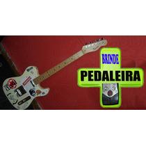 Guitarra Squier Tele Fender Affinity+brinde Pedaleira E Bag
