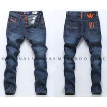 Calça Jeans Style Masculina Adidas 2016 - Alta Qualidade