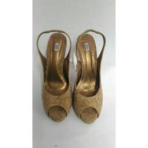 Sapato Peep Toe Cortiça Daslu Tam 38
