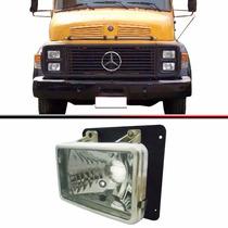 Farol Caminhão Mercedes Benz 1113 1313 1513 1519 Esquerdo