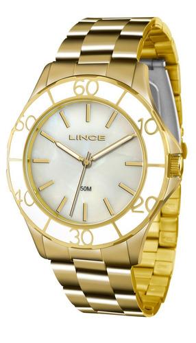c25e346dffc Relógio Lince orient Feminino Dourado - Loja. R  199