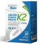 Calcium Maxx Calcio Citrato Malato K2 60caps 250mg Maxinutri