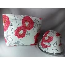 Bolsa De Praia+chapéu Conjunto