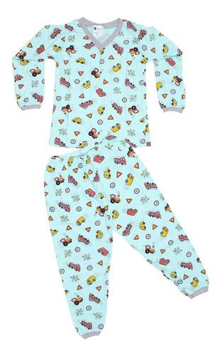 c738ec102 Kit 10 Pijamas Inverno Menino Infantil Roupa No Atacado. R$ 143