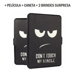 Case Capa Kindle Paperwhite Don't Touch + 4 Brindes