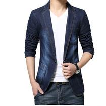 Blazer Casual Jeans Masculino