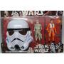 Kit Star Wars Rey+paul Com Máscara- Bonecos Star Wars