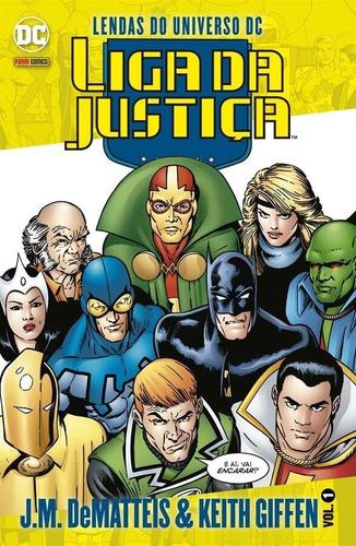 Lendas Do Universo Dc: Liga Da Justiça - Volume 1 - J.m. Dem