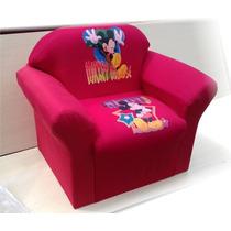 Mini Sofa Infantil Peppa Pig Mickey Mouse Ben Dez + 02brinde