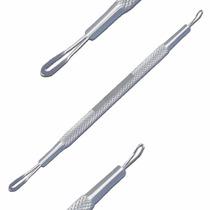 Extrator Cravos Comedões Cureta Alça Dupla Aço Cirúrgico
