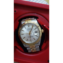 Rolex Oyster Datejust Misto Aço Ouro Turn O Graph