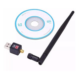 Antena Wi-fi Adaptador Wireless 1200mb/s Usb Pc Notebook