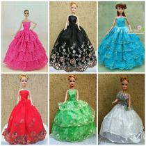 Vestido Festa Roupinhas Para Boneca Barbie