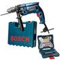 Furadeira Industrial 1 2 Gsb 16re 750w   Kit 30 Pcs Bosch
