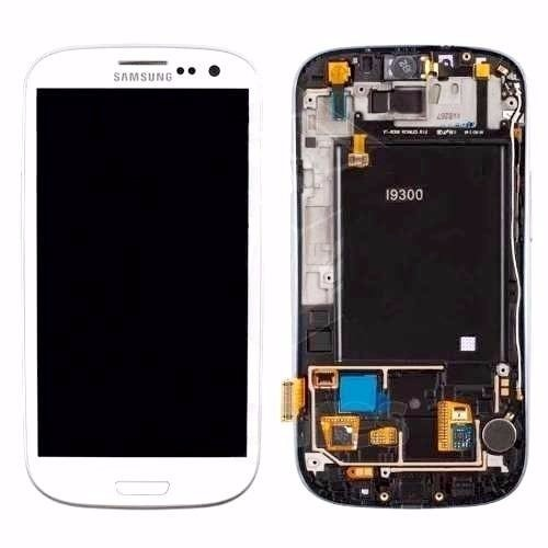 Tela Display Touch Samsung  Galaxy S3 Branco I9300