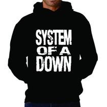 Blusa System Of A Down Moletom Canguru - Promoção Limitada!
