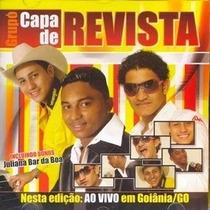 Cd Capa De Revista - Ao Vivo Em Goiania