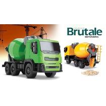 Caminhão Brutale Betoneira + Comboio Bombeir Roma Brinquedos