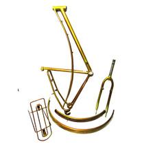 Quadro Bike Aro 26 Fem Tipo Caloi Ceci Antiga Kit Completo
