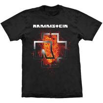 Camiseta De Banda - Rammstein (stamp)