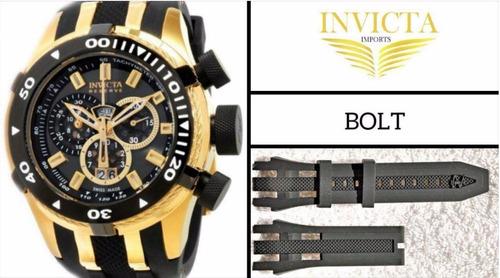 c77d703eef4 Pulseira Relógio Invicta Reserve Bolt 0976 0978 0980 10205 - R  179 ...