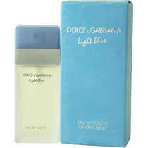 Perfume Dolce Gabbana Light Blue Feminino 100ml - Original