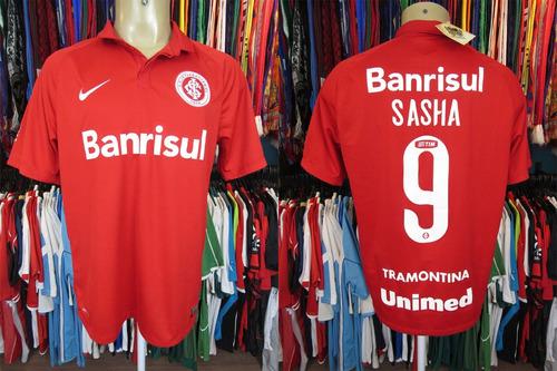 Internacional 2015 Camisa Titular Tamanho G Número 9 Sasha 53fd66249f991