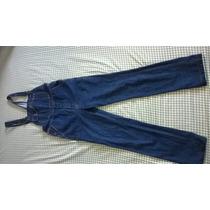Macacão Jeans Masculino De Jeans Grosso 42/44