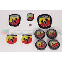 Kit Nº5 Adesivos Abarth P/ Fiat Novo Palio