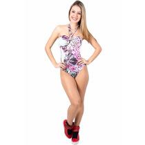 Body De Pescoço Com Bojo Blusa Feminina Panicat Decote Festa