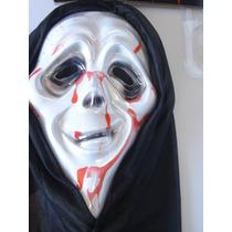 Máscara Panico Sangue Falso Haloween Fantasia Bruxas