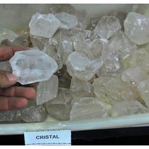 Cristal De Rocha Bruto Pedras De +- 4 Cm 1 Kilo Só 50,00