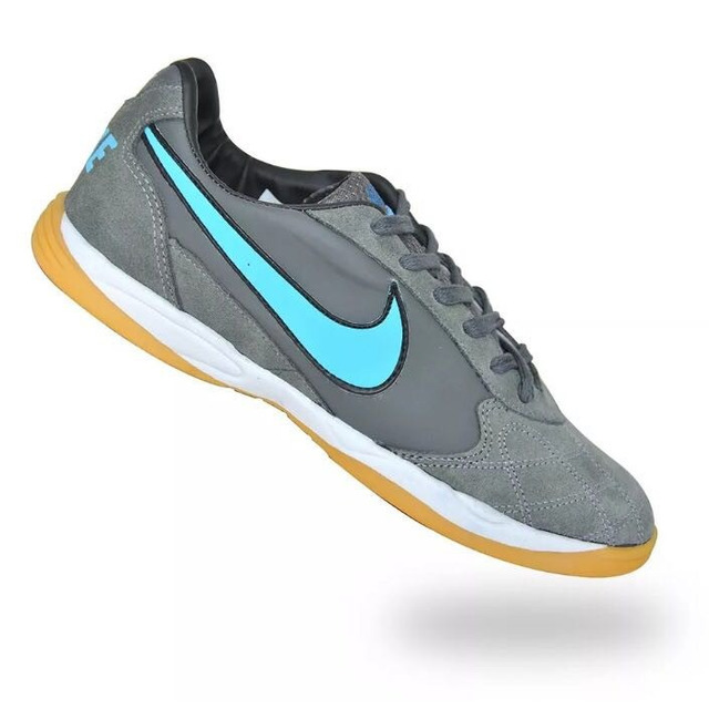 eea466c5f3 Tenis Nike Futsal Couro Futebol Salão Frete Gratis + Brinde. em ...