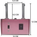 Máquina De Corte Quente Fuxico Artesanato Rosa Alta + Brinde