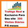 Visitas Reais Em Seu Site, Blog, Loja Virtual Trafego Rapido
