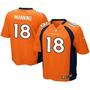 Camisa De Futebol Americano Nfl Manning Denver Broncos