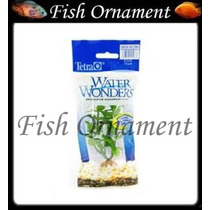 Planta Plastica Tetra Green Bacopa 15cm Fish Ornament
