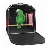 Bolsa Mala Caixa Transporte Aves Pássaros Papagaio Calopsita