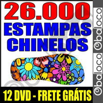 26.000 Pares De Estampas Chinelos Sandalias Sublimação Corel