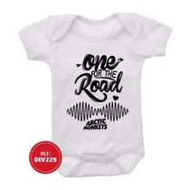 Body Bebê Arctic Monkey Infantil Bandas Rock Nirvana Guns