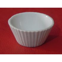 Lote De 10 Formas De Porcelana Branca Para Brigadeiro.