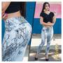 Calça Rhero Jeans Dourada Estilo Pit Bull Modela Bumbum !!!