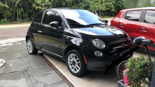 FIAT 500 2012 1.4 FLEX, VIDRO ELETR, TRAVA E DIR. ELETRICA