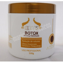 Oikos Botox Keratina Hidrolisada 500g Uso Profissional