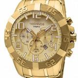 Relógio Technos Masculino Legacy Dourado Os20ik/4x Original