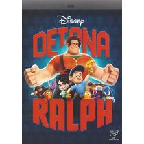 Dvd Detona Ralph Disney Original Novo